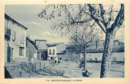 RB - Editeur Riviere Bureau -ref A545- Herault - Neffies - La Poste  - Carte Bon Etat - - Otros Municipios