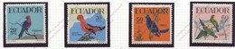 Equateur, Yvert 644/647, Scott 645/648, MNH - Equateur