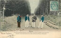 DOUANIERS - Donon Frontière Franco-Allemande,sur La Route De Raon Sur Plaine à Schirmeck (vosges). - Dogana