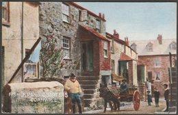 Fishermans Quarters, St Ives, Cornwall, 1905 - Hildesheimer Postcard - St.Ives