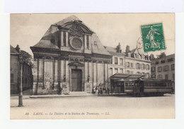 Laon. Le Théâtre Et Station Du Tramway. (2725) - Laon