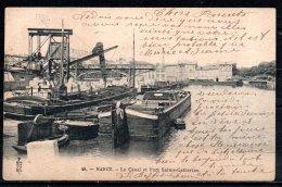 54-Nancy, Le Canal Et Port Sainte-Catherine - Nancy