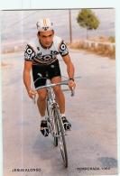 Jesus ALONSO . Cyclisme. 2 Scans. Zor BH 1986 - Radsport
