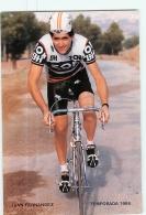 Jan FERNANDEZ . Cyclisme. 2 Scans. Zor BH 1986 - Radsport