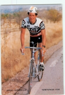 Angel CAMARILLO . Cyclisme. 2 Scans. Zor BH 1986 - Radsport