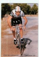 Francisco ANTEQUERA . Cyclisme. 2 Scans. Zor BH 1986 - Radsport