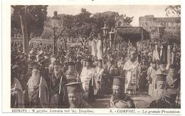 Grèce Corfou La Grande Procession - Grèce