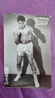 PHOTO BOXE DEDICACEE : COSENTINO Paul, Champion De France. Studio Mari Sports. - Boxing
