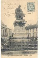SAINT-GERMAIN-EN-LAYE . STATUE DE THIERS . DECHIRURE DE 5mm SUR LE HAUT . AFFR SUR RECTO - St. Germain En Laye