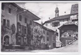 """Gruyères - """"Au Filet De Gruyères"""", Bazar, Présentoir De Cartes Postales, Carte-photo - FR Fribourg"""