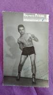 PHOTO BOXE DEDICACEE : PEIRANO Raymond - Boxing