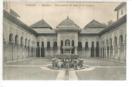 GRANADA ALHAMBRA SIN ESCRIBIR - Granada