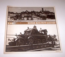 Modellismo Statico Carri Armati - Tamiya News 4 - Krupp Protze - 1978 - Books, Magazines, Comics