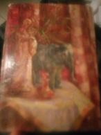 """Nature Morte """"la Vierge Et L'éléphant - Huiles"""