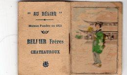 B51213 Calendrier De Poche, Chateauroux Année 1925, Bélier Frères - France