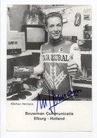 CYCLISME TOUR  DE  FRANCE  AUTOGRAPHE MATHIUS HERMANS - Cyclisme