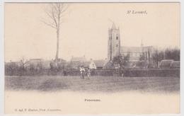 St Lenaarts - St Leonard - Panorama Met Kerk - Uitg. F. Hoelen Nr 243 - Brecht