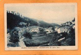 Badia Prataglia Vetriceta 1920 Postcard - Arezzo