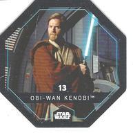 JETON LECLERC STAR WARS   N° 13 OBI WAN KENOBI - Power Of The Force