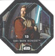 JETON LECLERC STAR WARS   N° 13 OBI WAN KENOBI Frotté-B - Power Of The Force