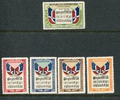 1946.-REP.DOMINICANA - RARE SET-5 VALORI-  M.N.H.-LUXE ! - Dominican Republic