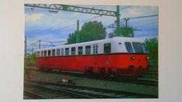 D158239 Hungary -  Train Railway  -  Engine    - ÁRPÁD Szentendre -Kisvárda - Nyíregyháza -Ungvár Railway Handstamp 1997 - Trains