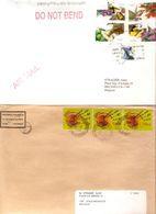 Timbres Du Monde Sur Lettre Courrier Postal 6,8 Kg - Timbres