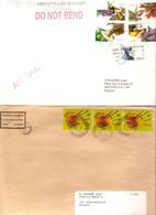 Timbres Du Monde Sur Lettre Courrier Postal 6,8 Kg - Briefmarken
