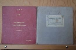 Force Aérienne Belge. Carnets De Vol De L'ensemble De La Carriere Du Colonel Aviateur Van Driessche.1947 1977. - Livres
