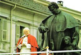 [MD1524] CPM - TORINO - GIOVANNI PAOLO II IN VISITA A TORINO - CON ANNULLO 2.9.1988 - NV - Papi