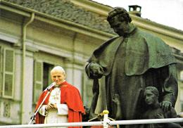 [MD1525] CPM - TORINO - GIOVANNI PAOLO II IN VISITA A TORINO - CON ANNULLO 2.4.1988 - NV - Papi