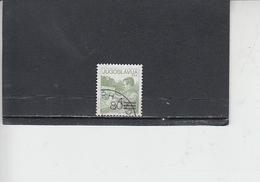 JUGOSLAVIA  1987 - Unificato  2129° - Serie Ordinaria - 1945-1992 Repubblica Socialista Federale Di Jugoslavia