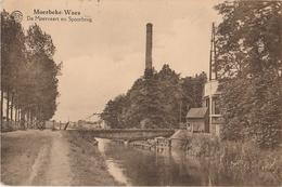MOERBEKE WAAS De Moervaart En Spoorbrug - Moerbeke-Waas
