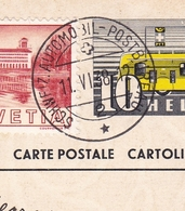 Entier Luzern 1838 Automobil Postbureau Postal Suisse Schweiz Switzerland Bureau De Poste Automobile - Ganzsachen
