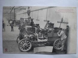 Lunéville Industrie Wagons Et Automobiles  Montage Et Peinture Des Automoboles - Autres Communes