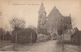 MOERBEKE WAAS Kerk Kruisstraat - Moerbeke-Waas
