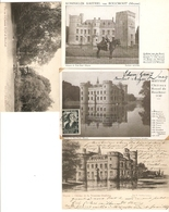 Meise / Meysse : Koninklijk Kasteel Van Bouchout --- 4 Kaarten - Meise