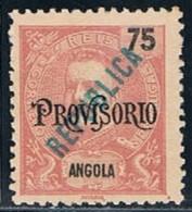 Angola, 1914, # 177, MNG - Angola
