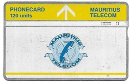 @+ Ile Maurice - LG 120 Units - Logo Bande Jaune - 605A.... - Maurice