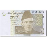 Billet, Pakistan, 5 Rupees, 2008, 2009, KM:53b, NEUF - Pakistan