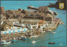 Fishing Trawlers And Pleasure Boats At The Quay, Looe, Cornwall, C.1980s - TKF Ltd Postcard - England