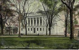 ME - Maine > Portland CUMBERLAND COUNTY COURT HOUSE - Portland