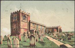 Parish Church, Whitby, Yorkshire, 1905 - Delittle, Fenwick & Co Postcard - Whitby