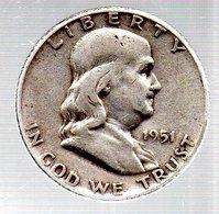 HALF-DOLLAR.1951..TB. - Émissions Fédérales