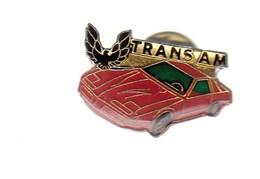 Pin's -  VOITURE  ROUGE - TRANS AM - Badges