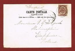Anvers Pl. De L'Aurore 1912 Op Zichtkaart Naar Nederland 2 Scan - Postmark Collection