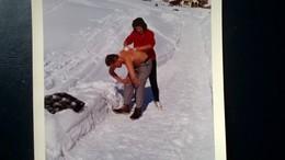 120 PHOTOS DONT 33 PHOTOS D UNE EXCURSION EN MONTAGNES ACTIVITÉ DE SKI JEUX  ANNÉES 1950 À 1970 - Album & Collezioni