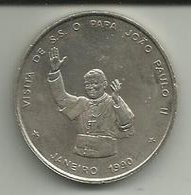 100 Escudos 1990 Cabo Verde (Papa Juan Paulo II) - Cap Vert