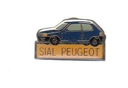 Pin's -  VOITURE  BLEU - SIAL PEUGEOT - Peugeot