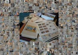 MONDE - Vrac De Timbres En Pochettes Et Pages D'album, Enveloppes Et Documents Divers - 6 Kg - Timbres
